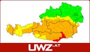 UWZ - Aktuelle Unwetterwarnungen für Österreich